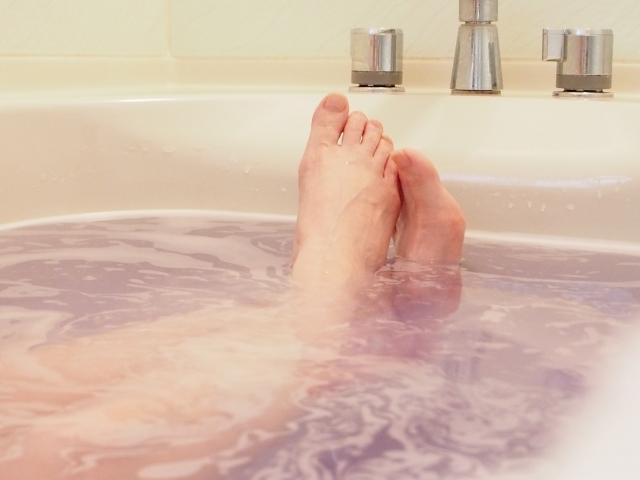 足が細くなる方法1 お風呂の入り方